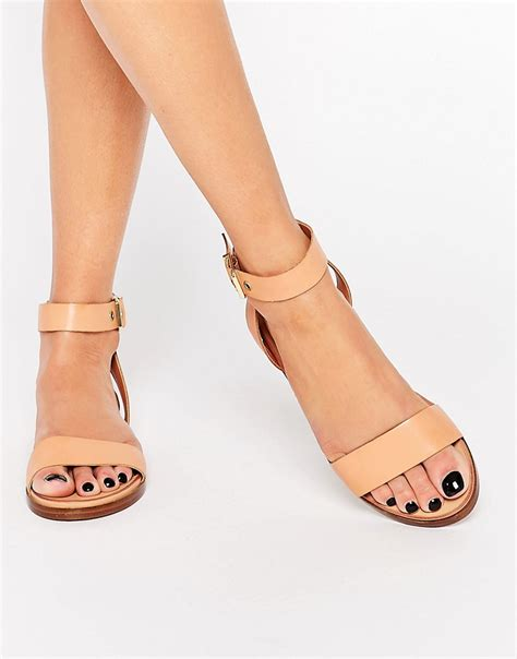 Best Quality Sandal Flat V49 aldo aldo erina simple flat sandals at asos