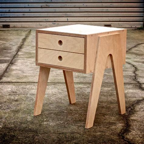 plywood bedside table bedside table with soft closing draw made from russian