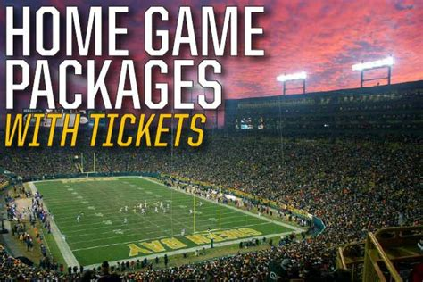 packer fan tours sell tickets green bay packers packages event usa