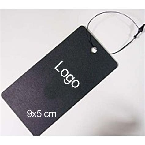 custom garment tags for clothing labels with logo print