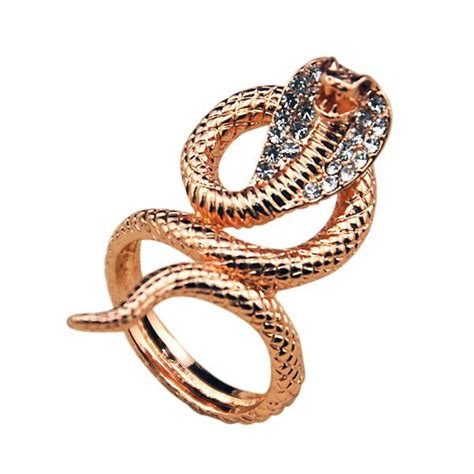 Snakes On A Ring Snakes On A Necklace Snakes By Sydney Evan by Gold Snake Ring Cobra Ring Bold And Honest