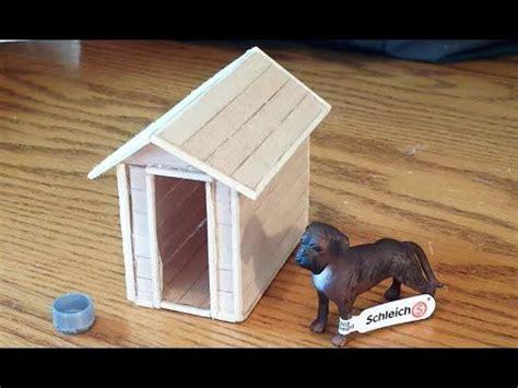 schleich dog house kennel youtube