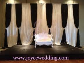 Wedding Backdrop Name Design Black Wedding Decoration Joyce Wedding Services