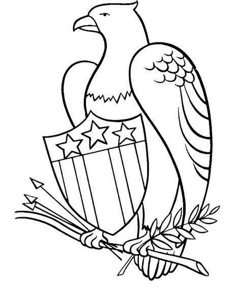 patriotic coloring page az coloring pages