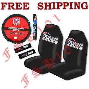 new patriots car accessories new nfl new patriots seat covers steering wheel