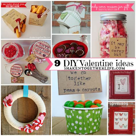 Diy Home Decor Gifts | 9 diy valentine ideas home decor crafts gifts