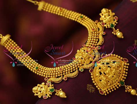 nl5458 gold design one gram temple laxmi god pendant