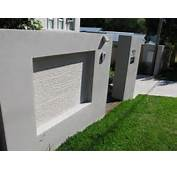 Boundary Wall Design And Entrance Pictures