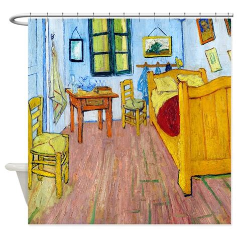van gogh bedroom at arles van gogh bedroom at arles shower curtain by designdivagifts2
