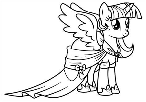twilight sparkle coloring page twilight sparkle coloring pages to and print for free