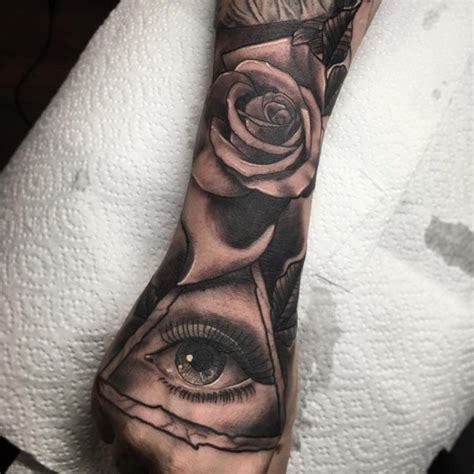 all seeing eye tattoo 60 greatest all seeing eye ideas a mystery on skin