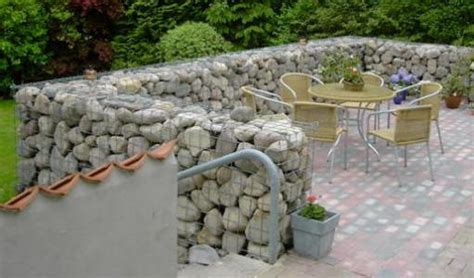 garden walls and fences gabion landscaping design ideas rocks walls fences usa