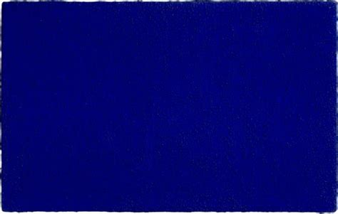 Yves Klein Blue by Untitled Blue Monochrome Yves Klein Wikiart Org