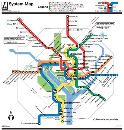 metrorail map part iv map purpose and audience geog 486 cartography and visualization