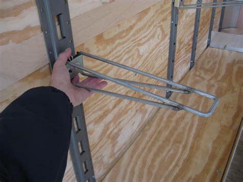 E Track Shelf Bracket by Wired Shelf Bracket Snap Rack