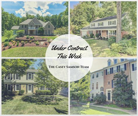 house under contract vienna real estate oakton homes northern virginia