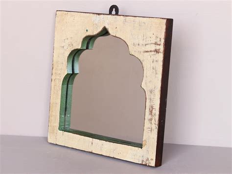 upcycled mirror upcycled temple mirror wooden mirrors scaramanga