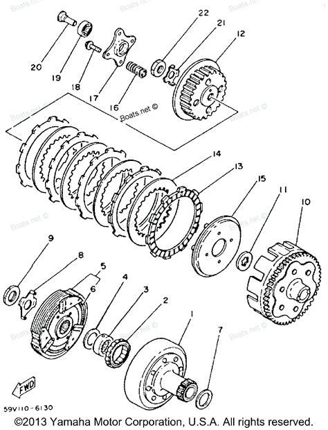 banshee clutch diagram clutch removal yamaha atv engine diagram get free image