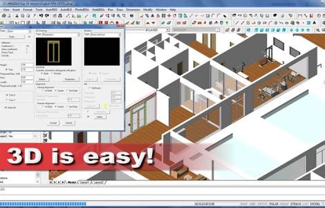 easy 2d architectural design software 3d architectural software bim software in dwg idea