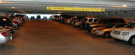 Parking Garage Clearance by Low Clearance Bars Parking Clearance Bar Clearance