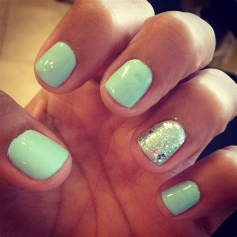 mint color nails 17 best ideas about mint green nail on