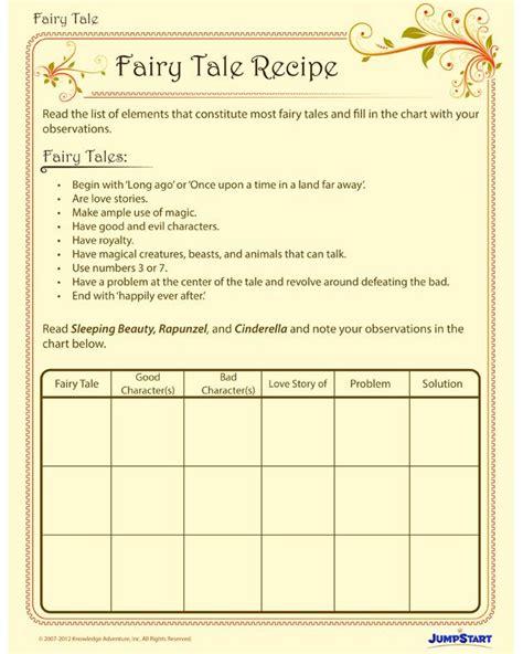 Tale Worksheets