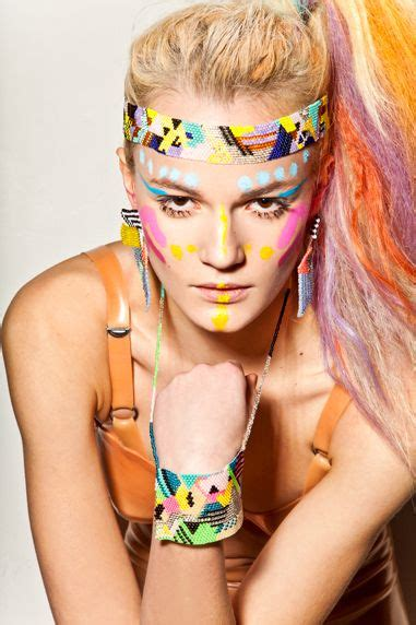 neon paint india 62 best images about warrior makeup on the