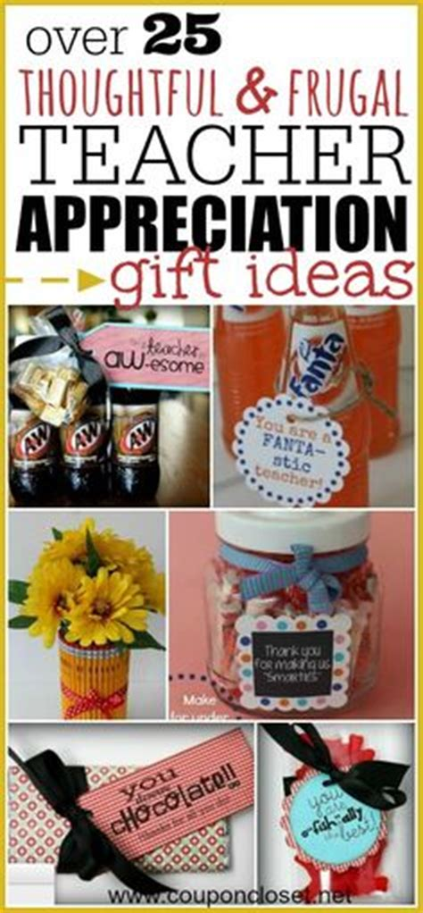 thrifty thoughtful gift ideas appreciation teaching and appreciation gifts on