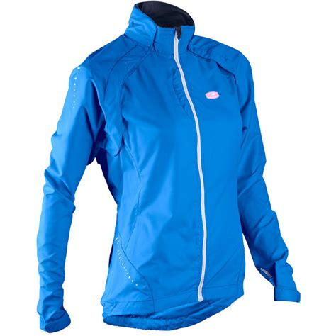 blue cycling jacket sugoi women s versa cycling jacket true blue