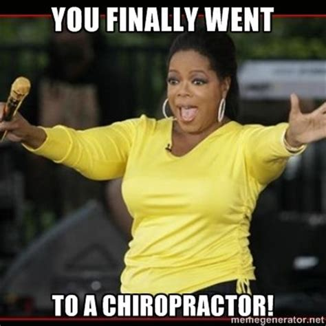 Chiropractor Meme - 67 best chiropractic humor by sport spinal rehab images