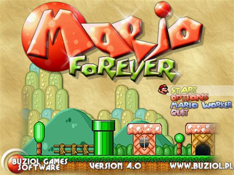 Super Mario Forever Full Version Free Download | super mario 3 mario forever download