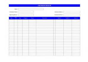 Checkbook Template by Checkbook Register Freewordtemplates Net