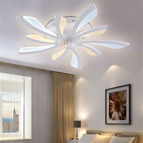 modern bedroom lighting ceiling new acrylic modern led ceiling lights for living room