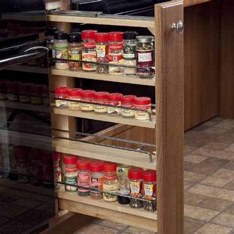 diy roll out spice rack pin by clausen on kitchen ideas