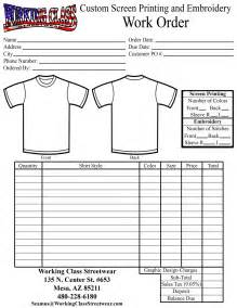 embroidery order form template free embroidery work order form template chainimage