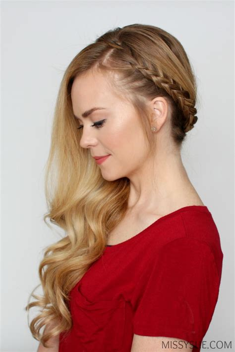 swept to the side hairstyles bohemian sideswept braid sue
