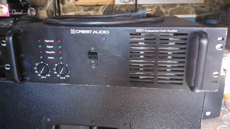 Power Lifier 9001 crest audio 9001 image 1657326 audiofanzine