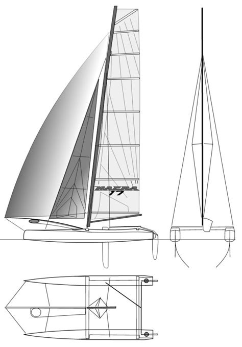 catamaran sailboat dimensions nacra 17 sailboat specifications and details on