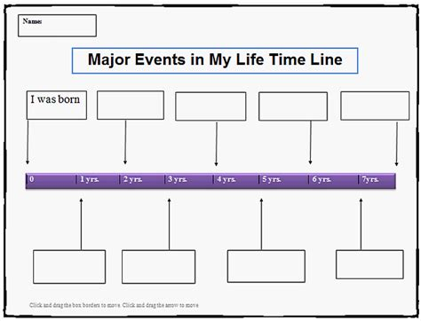 editable template for students editable timeline template for students calendar