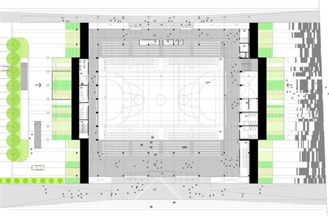 multi purpose hall floor plan architecture photography multi purpose sports hall