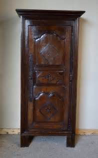 Narrow Wardrobe Cabinet Narrow Oak Chestnut Armoire Wardrobe Antiques Atlas