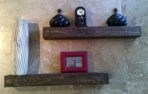 rustic floating shelves matched pair 32 by goazcards on etsy