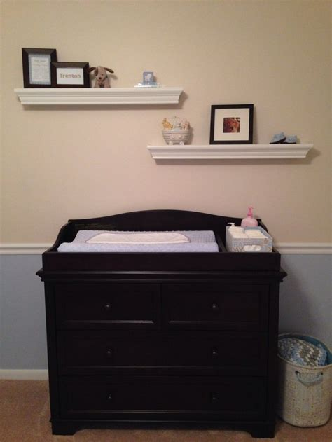 Baby Boy Nursery Changing Table Pooh Nursery Pinterest Changing Table Nursery
