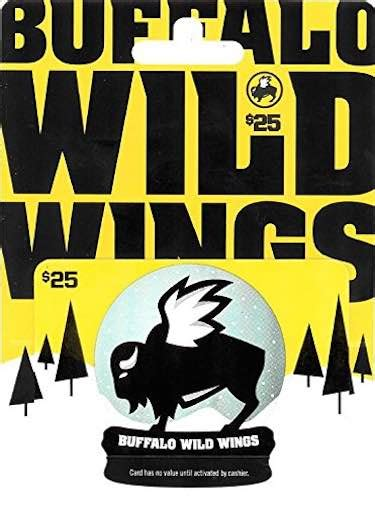 Buffalo Wild Wings Gift Card Amount - top 5 christmas gift cards for him boldlist