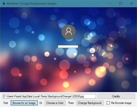 change my background how to change the login screen background on windows 10