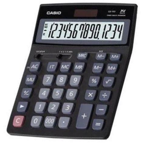 Casio D 40l Kalkulator Meja casio gx 14v calculator manual pdf