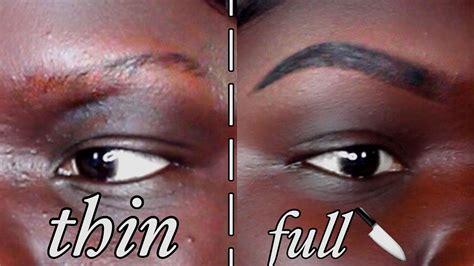 tattoo eyebrows on black skin updated eyebrow tutorial brow gel for dark skin nyma