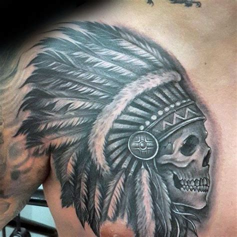 indian head tattoo designs 80 indian skull designs for cool ink ideas