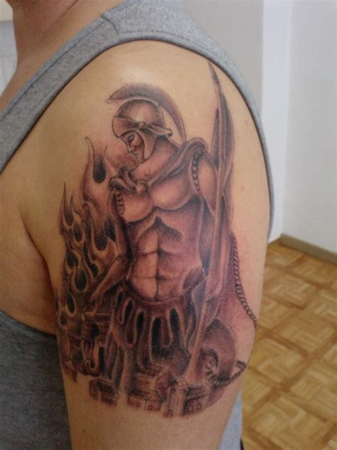 st florian tattoo st florian in progress by frostd3mon on deviantart