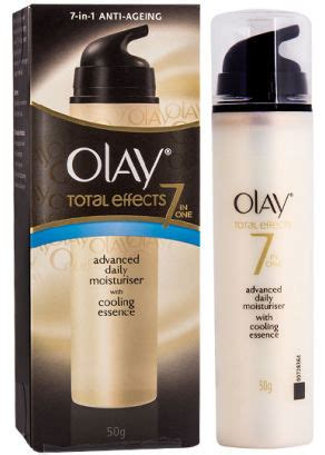 Olay Total Effect With Cooling Essence menthyl lactate cooltouch